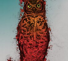 Great Horned Owl by BawbeeRok