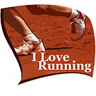 I Love Running by noeljerke
