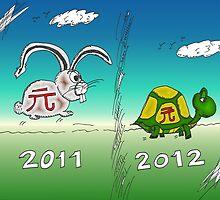 Binary Options News Cartoon Tortoise and Hare by Binary-Options