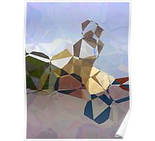 Abstract Polygons 17 Poster