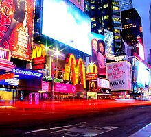 Times Square by Pippa Carvell
