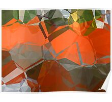Abstract Polygons 57 Poster