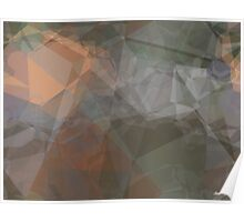 Abstract Polygons 71 Poster