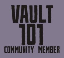 Vault 101 Community Member by ScottW93