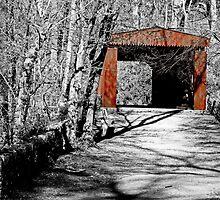Thomas Mill Covered Bridge by GalleryThree