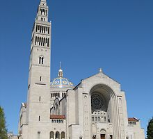 Basilica of the National Shrine of the Immaculate Conception by Kelly Morris