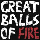 Great Balls of Fire #2 (Keith Moon) by LamericaTees