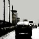 impressions of a bridge in rain by Nikolay Semyonov