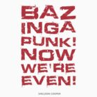 Bazinga by cloz000