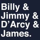 Billy &amp; Jimmy &amp; D&#x27;Arcy &amp; James Smashing Pumpkins T-Shirt by tcn33