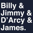 Billy & Jimmy & D'Arcy & James Smashing Pumpkins T-Shirt by tcn33