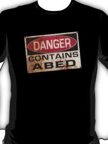DANGER! Contains nerd T-Shirt