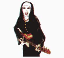 The 3D Rock'n Nun T-Shirt