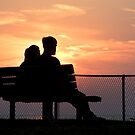 Romancing the park bench by iamwiley