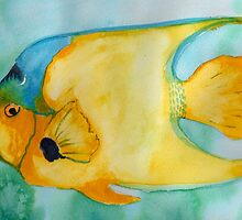 Yellow Fish by KeLu