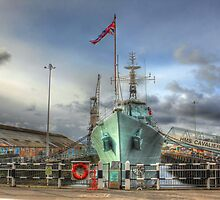 HMS Cavalier (R73) by larry flewers