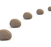 Five Pebbles in an Orderly Queue by Natalie Kinnear
