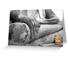 """Earth Witness"" Buddha Greeting Card"