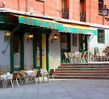 Memories of Spain 5 - Cafe del Nuncio in Madrid by Igor Shrayer