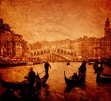 Rialto Bridge, Venice - Italy by fineartphoto1