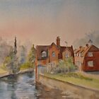 Spring along the Stour-Canterbury by Beatrice Cloake