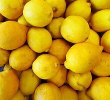 Lemony Yellow by WildestArt