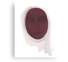 Muslim Woman - Oil Study Canvas Print