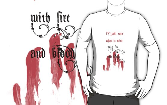 With Fire and Blood by sparkykot