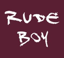 Rude Boy (Sketch White) by supalurve