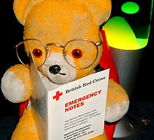 Fred Bear Wants to Learn First Aid by missmoneypenny