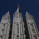 Salt Lake City Temple by Joseph Barney