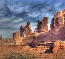 Arches NP: Park Avenue by Dawn Crouse