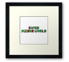 Super Minion World by @Saundra89 Framed Print