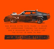 MFP PURSUIT SPECIAL by Mark Will