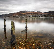 Ben Nevis and Fort William by Grant Glendinning