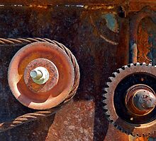 Rusty Wheels and Gears by debidabble