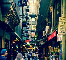Centre Place, Melbourne CBD by Emma  Gilette