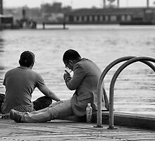 quiet companionship by Maree Cardinale