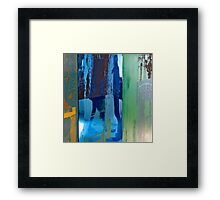 Rauschenberg Reflections (Cuban Mix) Framed Print