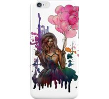 les ballons roses iPhone Case/Skin