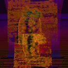 Orange And Purple 9 by Rois Bheinn Art and Design