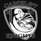Camelot Knights Rugby Club - Small White by Mouan