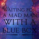 Waiting For A Mad Man With A Blue Box by saniday