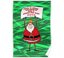 Browncoat Santa Poster