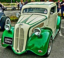 1950's Ford Anglia/Popular Pickup by Colin Metcalf