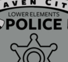 Lower Elements Police Sticker