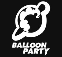 Balloon Party - The Minimalist by owlet57