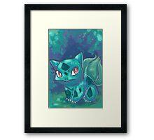 Bulbasaur. Framed Print