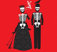 All Hail to the Queen and King as life after death still proceeds them.  by TopherAdam