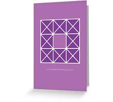 Design 42 Greeting Card